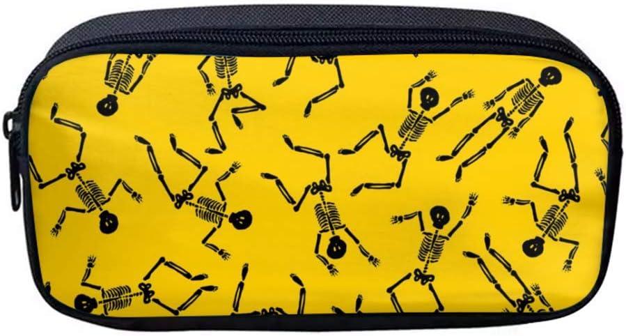 Estuche de tela Oxford con patrón de impresión personalizable, estuche para lápices y bolígrafos, monedero para cosméticos, bolsa de maquillaje: Amazon.es: Juguetes y juegos