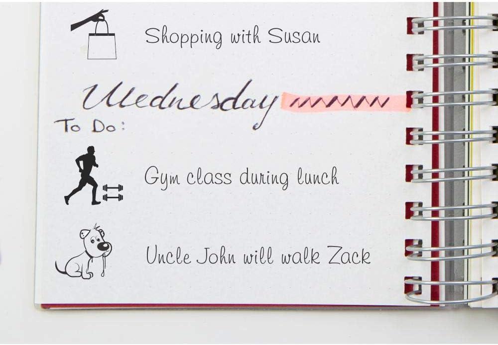 Dog Design for Vets//Walking Trodat Printy 4921 Journal//Planner Stamp