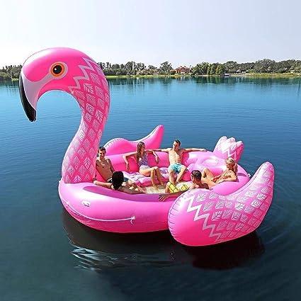 Nadar Juguetes para Fiestas Balsa Inflable Piscina Pvc Isla Jumbo ...