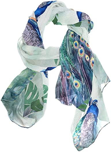 Ladies Pashmina Soft Touch Scarf Shawl in Aqua Peacock Blue