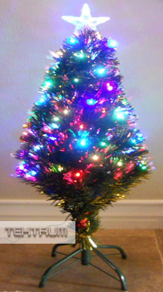 Fiber Optic Artificial Prelit Christmas Tree