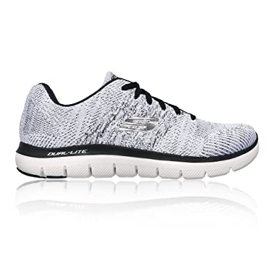 3080530f03d6 Skechers Flex Advantage 2.0 Men US 8.5 White Running Shoe UK 7.5