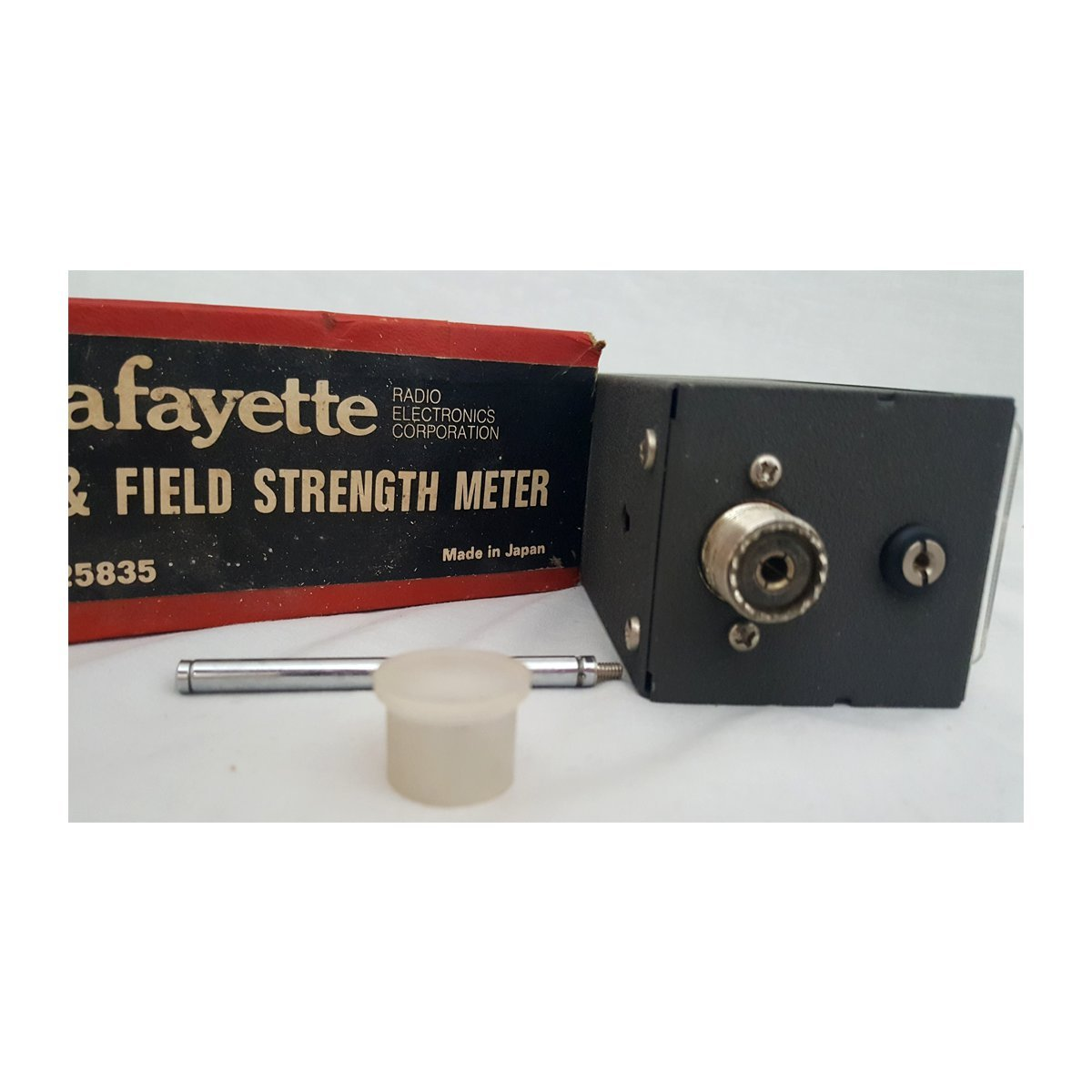 Amazon.com: Vintage LaFayette SWR & Field Strength Meter #99-25835 on