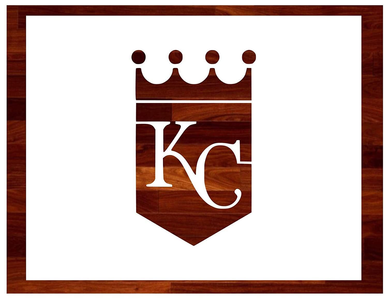 K C Royals ~ Stencil ~ Multiple Sizes ~ Custom Stencil