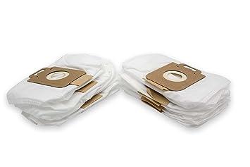 vhbw 10 Bolsa vellón Micro para Aspirador Robot Aspirador Multiusos Nilfisk/Alto King Home Hygienic, King Special, Millenium Edition: Amazon.es: Electrónica