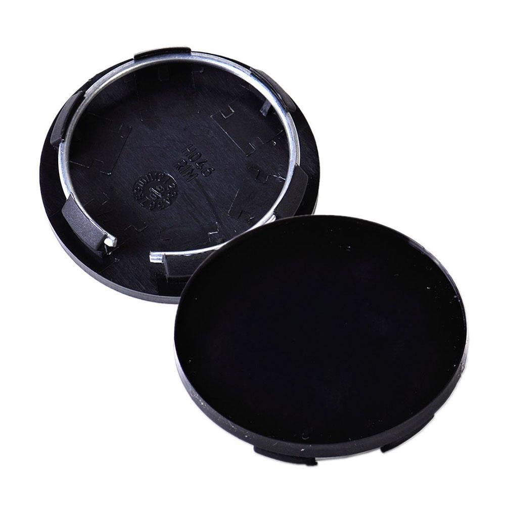 Amazon.com: ZHUOTOP - 4 tapacubos universales de 50 mm para llantas de coche, color negro: Automotive