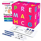 PREGMATE 60 Pregnancy (HCG) Urine Test Strips, 60 HCG Tests