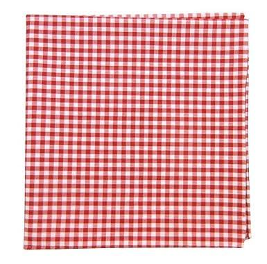 The Tie Bar Novel Gingham 100% Cotton Pocket Square 0300002461
