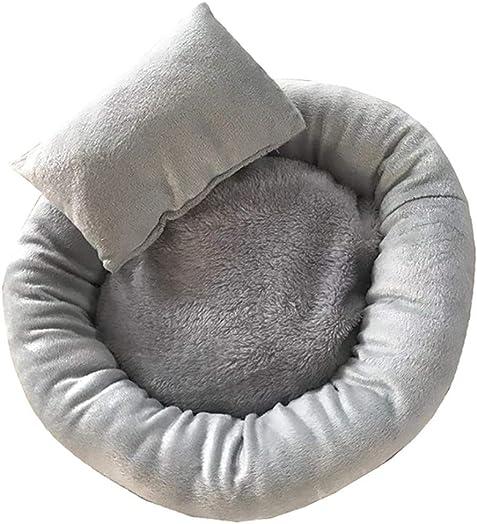 Lomsarsh Pet Bed Mat, Comfortable Plush Kennel Dogs Pet Litter Deep Sleep PV Cat Litter Sleeping Bed Comfortable Full Fleece Cat and Dog Pet Nest Cat Nest Dog Nest