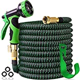 Best expandable garden hose - 100 ft Expandable Garden Hose,Upgraded Leakproof Lightweight Garden Review