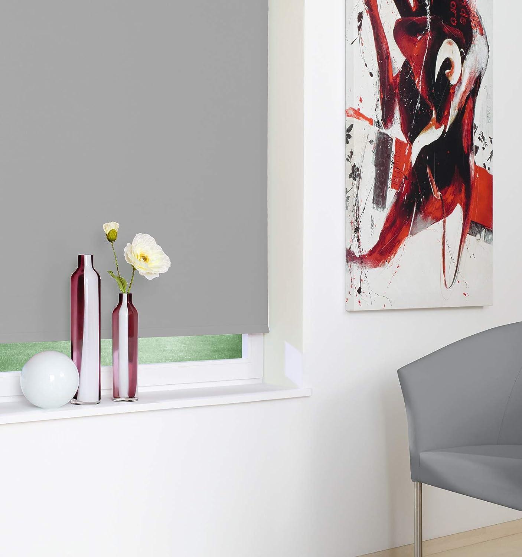 Seitenzugrollo Kettenzugrollo Fenster Rollo 8 Farben Breite 62 bis 242 242 242 cm Höhe 160 cm Vorhang blickdicht halbtransparent lichtdurchlässig Sonnenschutz Blendschutz (Größe 242 x 160 cm Farbe Weiß) B0793FFBRP Seitenzug- & Springrol efef12