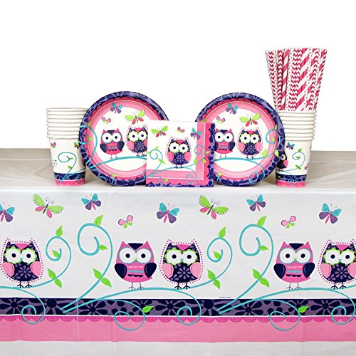 Cedar Crate Market Owl Pal Party Supplies Pack