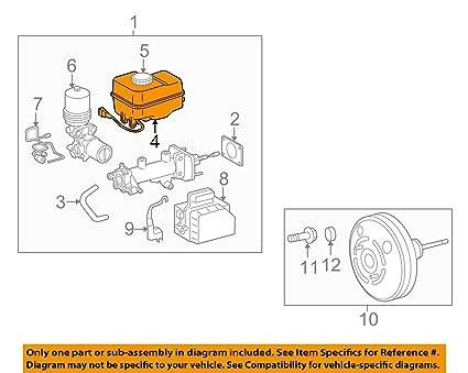 61Ux07ijalL._SX425_ amazon com toyota 47220 04060 brake master cylinder reservoir