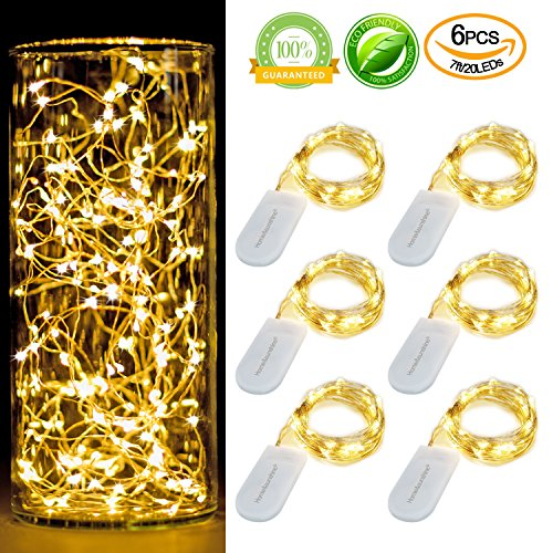 Micro Led String Lights On Bendable Wire - 6