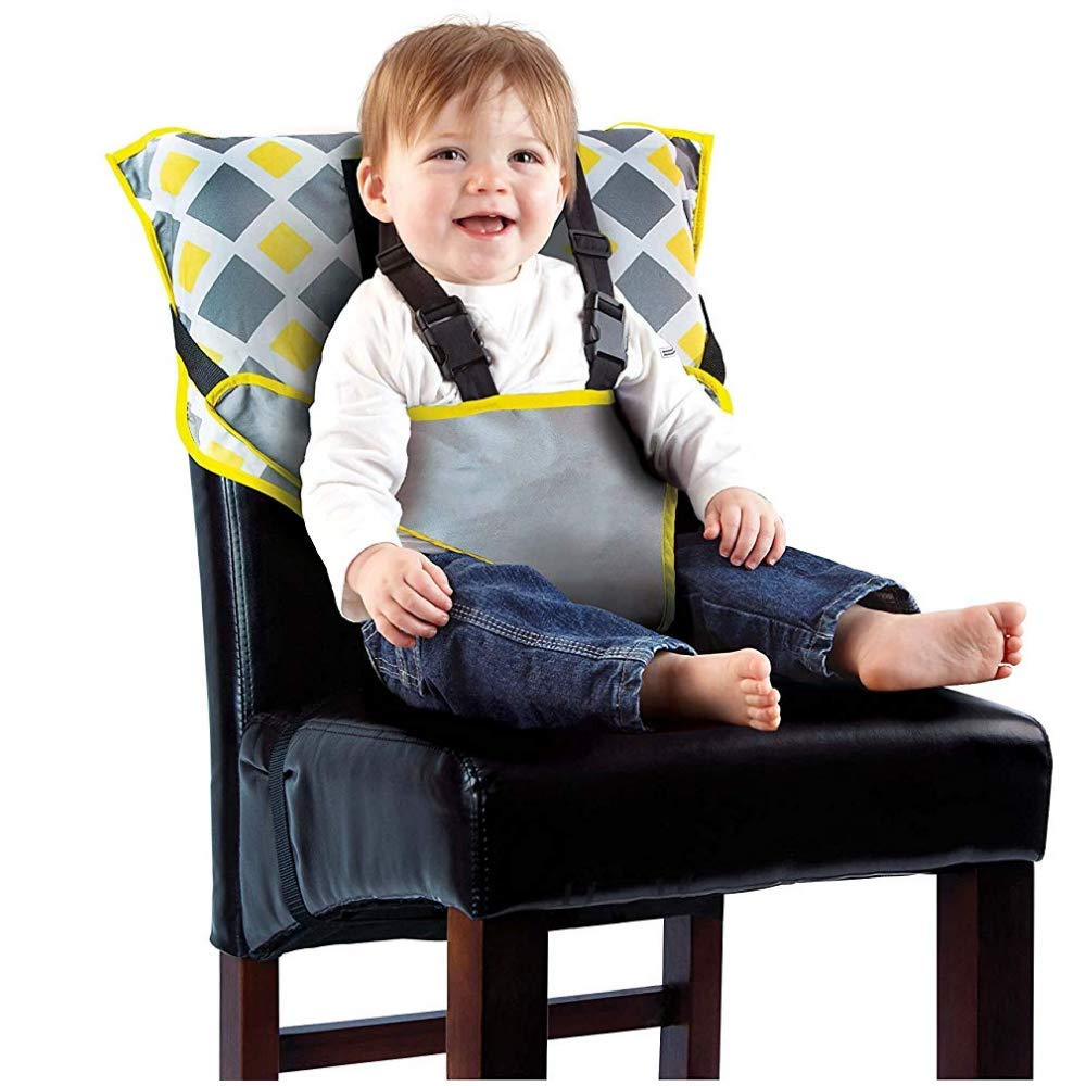 Baby Seat Starp for Toddlers Aged 6-30 Months - Adjustable - Light Weighed - Portable - Easy to Clean with Flexible Strap Shoulder Belt