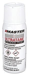 Butane Refill Cannister, 15/16 Oz, PK12