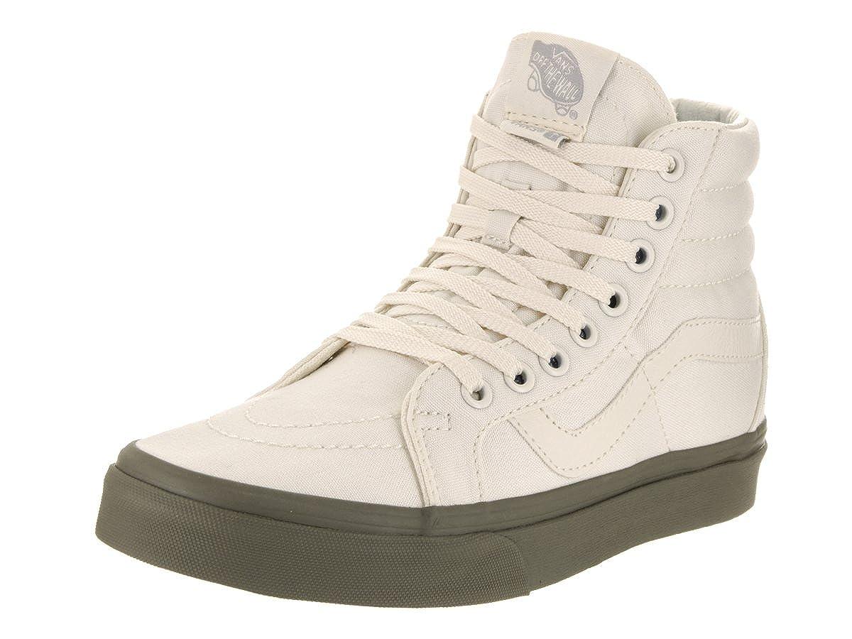 f8b20520ebd0 Vans Unisex Sk8-Hi Reissue (Vansguard) ClscWht Ivy Grn Skate Shoe 5.5 Men  US   7 Women US  Amazon.co.uk  Shoes   Bags