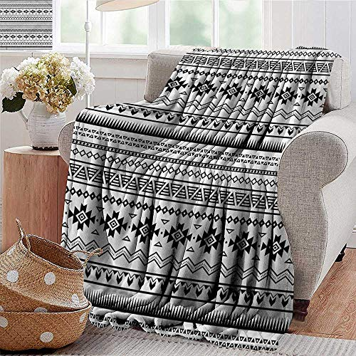 - Xaviera Doherty Weighted Blanket Adult Native American,Aztec Folk Art Super Soft Faux Fur Plush Decorative Blanket 60