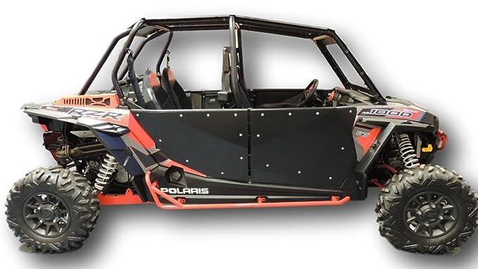 2014 - 2018 Polaris RZR xp 1000 cuatro puerta 4 puerta completa puertas también encaja RZR Turbo cuatro puerta: Amazon.es: Coche y moto
