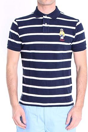 Polo Polo Ralph Lauren Stripes Azul para Hombre: Amazon.es ...