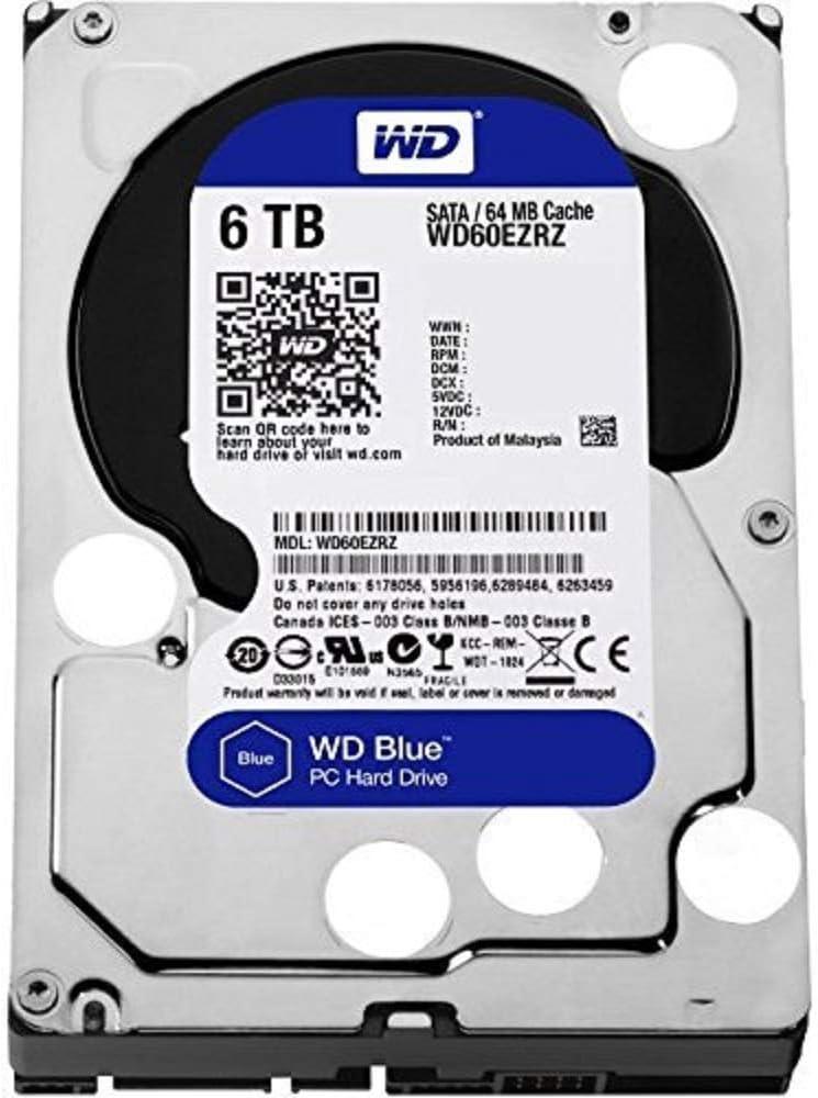 WD Blue - Disco duro para ordenadores de sobremesa de 6 TB (5400 ...