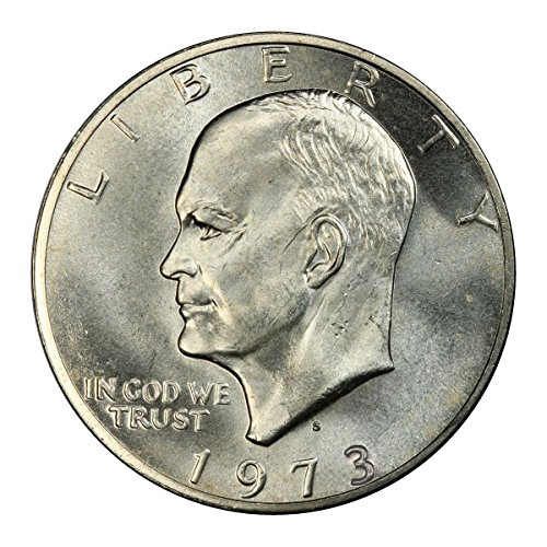 1973 S Eisenhower Silver Dollar Brilliant Uncirculated