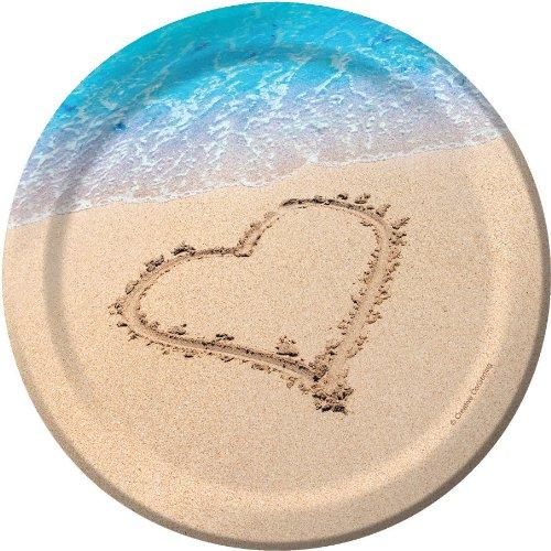 - Beach Love Lunch Dessert Plate 6 7/8