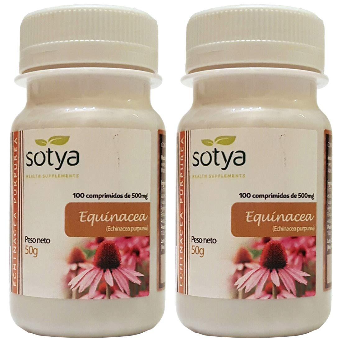 EQUINACEA 500mg 100 cáps. SOTYA (Pack 2u.): Amazon.es: Salud y cuidado personal