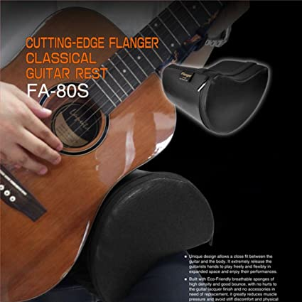 ParaCity cojín en forma de guitarra eléctrica portátil piel sintética Flanger fa-80s contorneado cojín