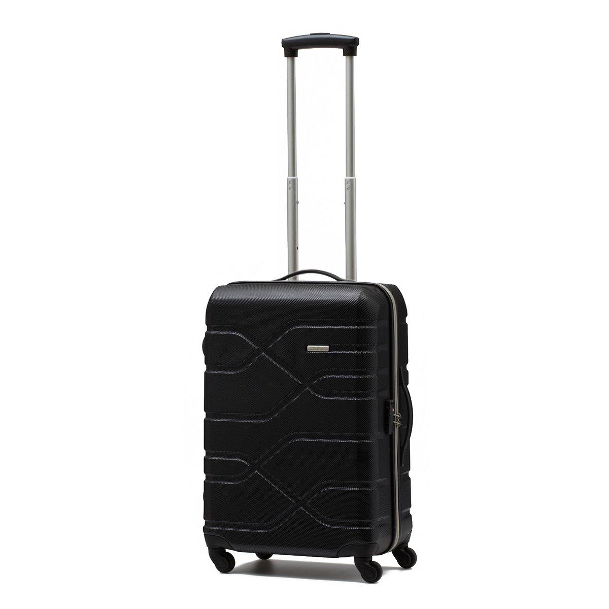 [アメリカンツーリスター] AMERICAN TOURISTER HOUSTON CITY スピナー R98*004(スーツケースキャリーケーストラベルバッグTSAロック装備軽量大容量機内持込ファスナー保証付,31L) B011N7F61Q ブラック