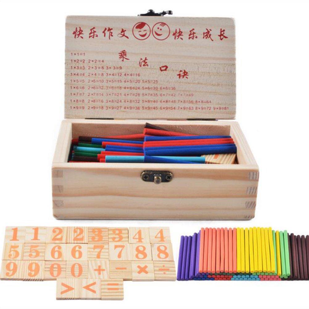 Marco de cuenta de madera beb/é ni/ños grano Laberinto /ábaco Rack matem/áticas juguete educativo temprano para 3-6 a/ños Mxssi