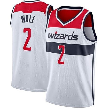 Camiseta De Baloncesto para Hombre, Wizards # 2 John Wall ...