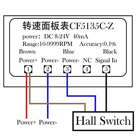 Magic Tach Pickup Wiring Diagram on