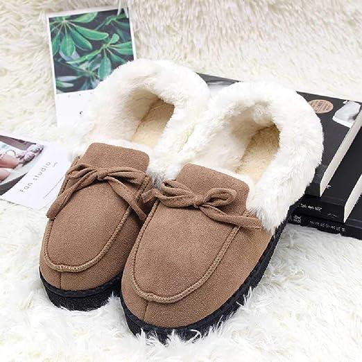YXOPB Zapatillas De Algodón Inicio Zapatillas De Algodón Zapatos ...