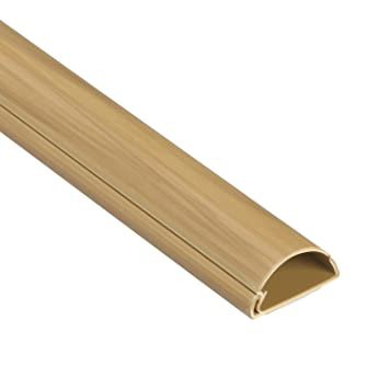 D Line 1M3015O Moulure Décorative En Demi Cercle, Finition Bois