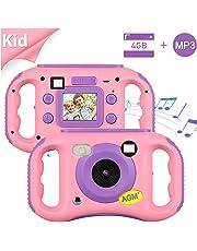 """Cámara para Niños, AGM MP3 Cámara de Video para Niños con 1.77"""" HD Color Pantalla Digital Cámara Memoria incorporada de 4GB para Chicas y Chicos, Regalos de Cumpleaños"""