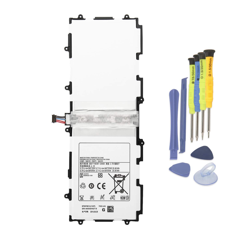 Bateria Tablet 7000mAh SP3676B1A 1S2P para Samsung Tab 2 10.