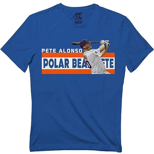 Polar Bear Pete 20 New York Baseball Alonso Home-run T Shirt