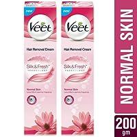 Veet Hair Removal Cream for Normal Skin - 100 g (Pack of 2)