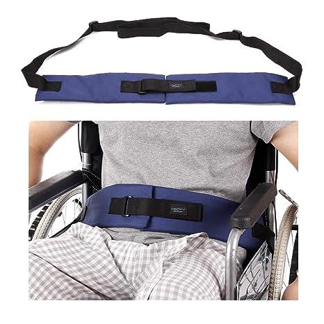 Cinturón de seguridad para silla de ruedas, correas de sujeción médicas, para el cuidado
