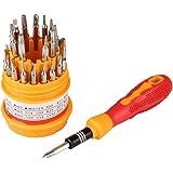 DeoDap Metal 31 in 1 Repairing Tool Kit (Multicolor, 31-Pieces)