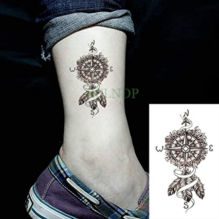 Modeganqing 10 Unidades Impermeable Tatuaje Temporal Pegatina Lobo ...