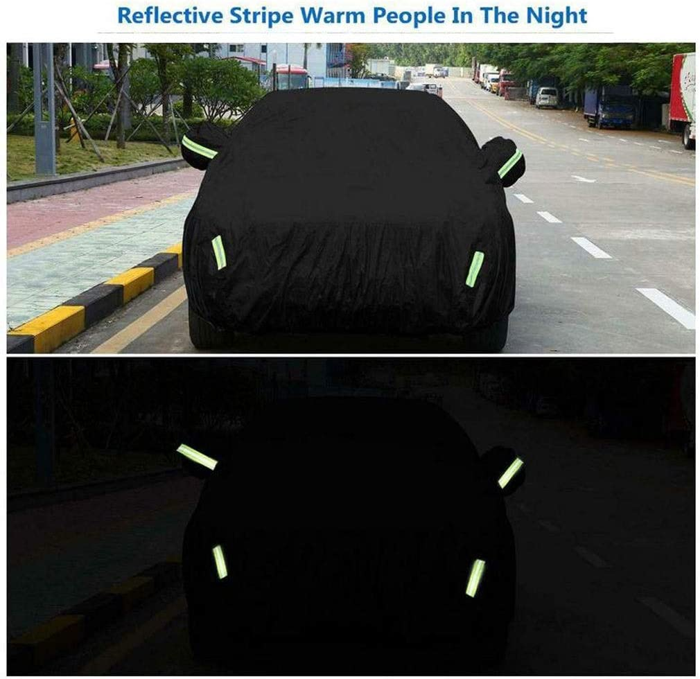Color : CL500 Car Cover Compatible with Mercedes-Benz CL-class Sports Car Cover Waterproof Snowproof Breathable Warm Cover Car Clothing Oxford Cloth for Winter