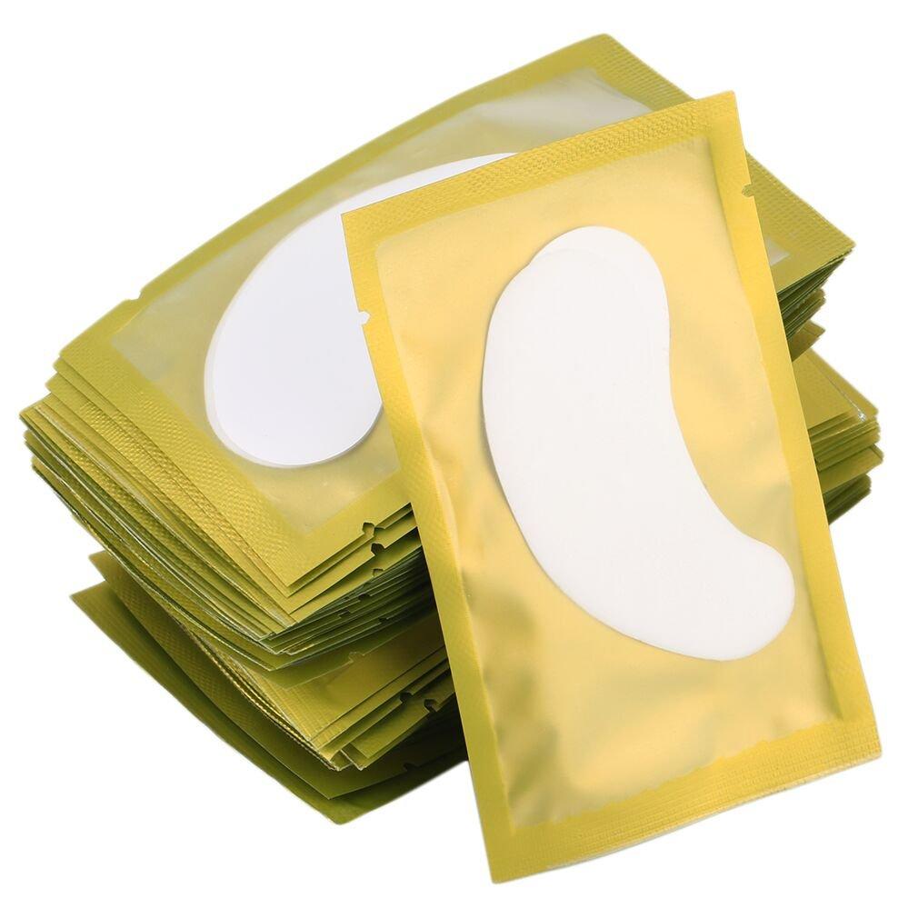 50PCS Paper Patches Eyelash Under Eye Pads Lash Eyelash Paper Tips