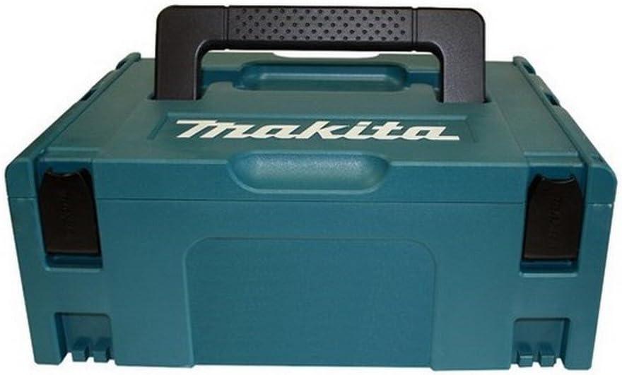 Makita 821550-0 - Maletín Makpac Tipo 2, Negro/ Azul