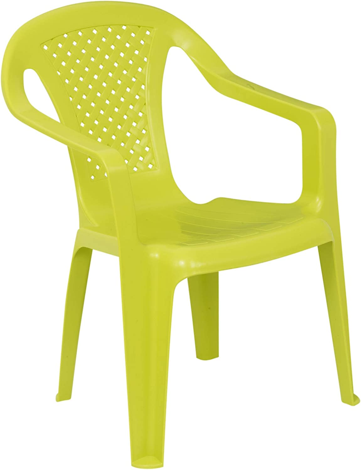 Green Quantity 1 URBNLIVING Camelia Plastic Childrens Chair