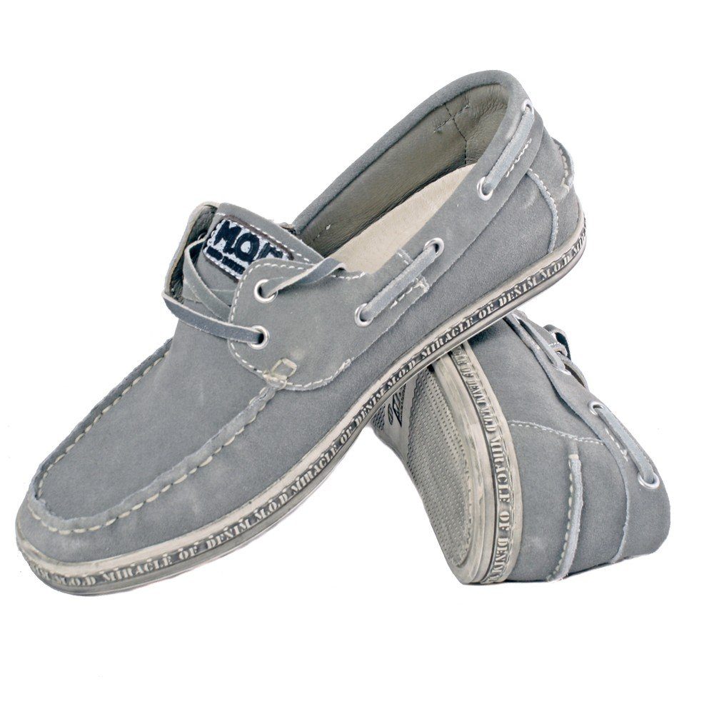 M.O.D M.O.D M.O.D Herren Leder Schuhe MIRACLE OF DENIM grau grau MOD ACS-S-503 e6a0bf