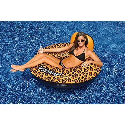 Swimline Wild things Cheetah Pool Float: Toys & Games