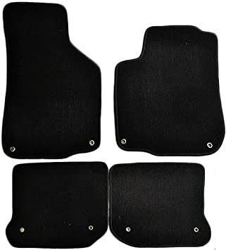 Amazon Com Floor Mats Compatible With 1999 2005 Volkswagen Gli Mk4 Nylon Blackfront Rear Carpet By Ikon Motorsports 2000 2001 2002 2003 2004 Automotive