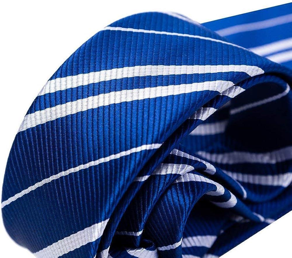 Hooyi Tie For Adult Men Halloween Harry Potter Man Neckties Stripe Cravat Polyester